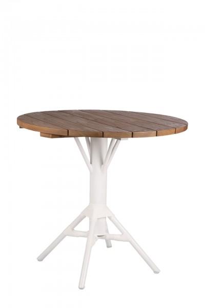 Nicole Café Tisch, weiß
