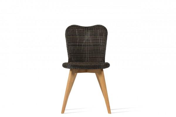 LENA Dining Chair Teak Base