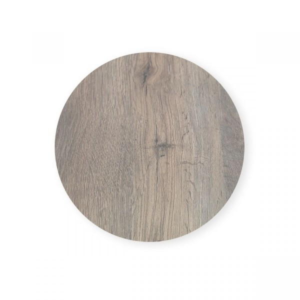 Laminat Tischplatte Ø80