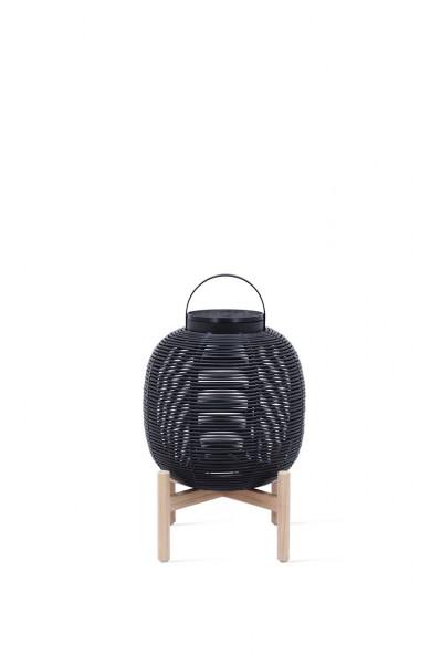 TIKA Lantern teak base