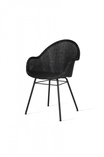 AVRIL HB Dining Chair Steel A Base