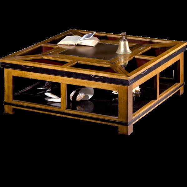 Table basse à Pavois