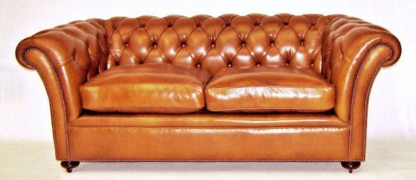 Rochester Sofa 2,5-Sitzer Chesterfield aus Leder