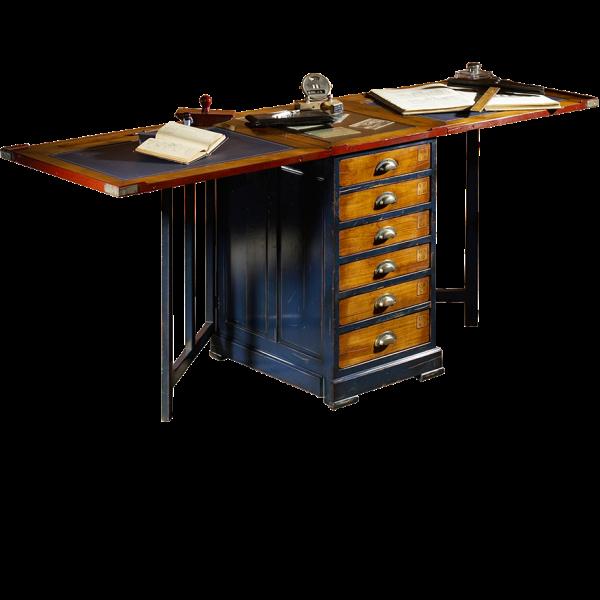 Table d'ARCHITECTE à volets