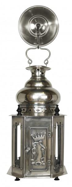 Venetian Lantern, Antique Silver von Authentic Models