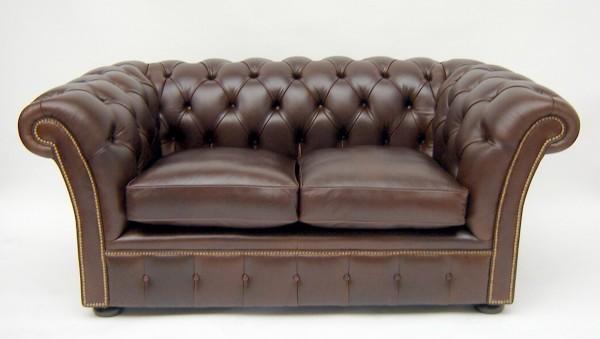 Rochester Sofa 2-Sitzer Chesterfield aus Leder